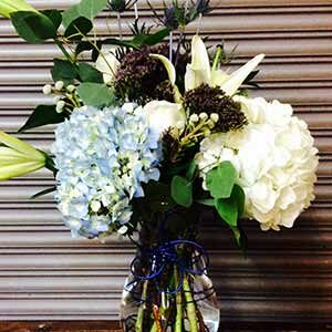 Blue Daze arrangement by Just Priceless