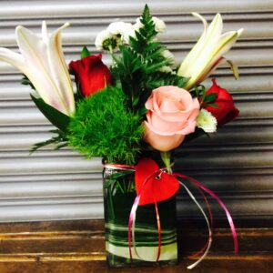 Just Priceless Organic Surprise Floral Arrangement